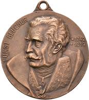 Medaillen Deutschland: Löwenberg/Schlesien: Bronzemedaille 1913, Unsigniert, Auf Die Jahrhundertfeie - Germany
