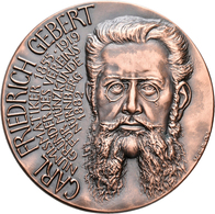 Medaillen Deutschland: Nürnberg: Bronzemedaille 1989, Von Veroi, Auf Den 70. Todestag Des Numismatik - Germany