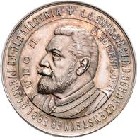 Medaillen Deutschland: Schlaraffia: Silbermedaille 1900, Auf Die Fahnenweihe Der Schlaraffenvereinig - Germany