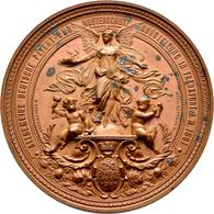 Medaillen Deutschland - Geographisch: Frankfurt A.M.: Bronzemedaille 1881 Von Giesenberg/Scharff. Au - Germany