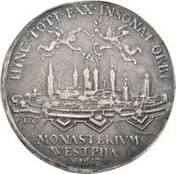 Medaillen Deutschland - Geographisch: Münster: Medaille Von E. Ketteler (EK) Auf Den Westfälischen F - Germany