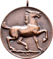 Medaillen Deutschland - Geographisch: Vaihingen An Der Enz, Württemberg: Bronzegußmedaille 1924 Von - Germany