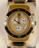 Uhren: Herrenarmbanduhr Von Constantin Durmont: : Quartz Chronograph Movement 8172 Ceramic, 3 Jewels - Jewels & Clocks