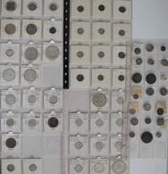 Naher Osten: Lot über 60 Verschiedene Nicht Näher Bestimmte Münzen, Dabei Indien, Jemen, Marokko, Os - Ohne Zuordnung