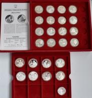 China - Volksrepublik: Lot 25 Münzen Zu 5 Yuan (17) Und 10 Yuan (8) 1983 - 1992 Mit Diversen Motiven - China