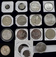 Kanada: Kleine Partie Ab 1919, Dabei Kanus, Unzen, Olympiade Montreal. Insg. 17 Münzen. - Canada