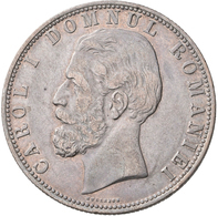 Rumänien: Lot 4 Stück; 5 Lei 1880 B, 5 Lei 1906, 100.000 Lei 1946, 500 Lei 1941, Sehr Schön, Sehr Sc - Romania