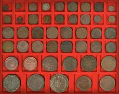 Russland: Schönes Konvolut Von Insgesamt 93 Russischer Silber- Und Kupfermünzen, Meist 18./19. Jahrh - Russia