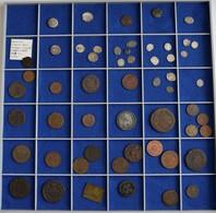Russland: Lot Von 54 Silber- Und Kupfermünzen Ab Ende 15. Jhd. Bis Anfang 20.Jhd, Dabei 18 X AR-Trop - Russia