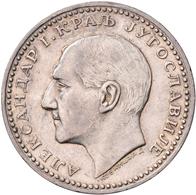 Serbien: Lot 3 Silbermünzen; 5 Dinar 1879, 5 Dinar 1904, 50 Dinar 1932, Sehr Schön, Sehr Schön-vorzü - Serbia