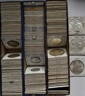Tschechoslowakei: Sammlung Kleinmünzen Und Gedenkmünzen Der Tschechoslowakei Ca. 1923-1980 Sowie Slo - Czechoslovakia