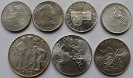 Tschechoslowakei: Kleines Lot 7 Silber Gedenkmünzen: 10 Kcs 1957, 1965, 1967, 1968; 25 Kcs 1969; 50 - Czechoslovakia