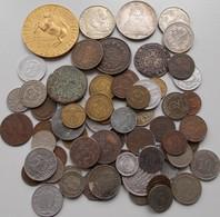 Deutschland: Kleines Lot Diverser Münzen, überwiegend Aus Deutschland, Dabei: 5 Mio Mark 1923 Westfa - Germania