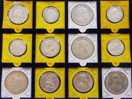 Preußen: Kleine Partie 12 Münzen: Vom Siegestaler 1871, über 2 Mark (4x), 3 Mark (3x) Und 5 Mark (4x - Taler & Doppeltaler