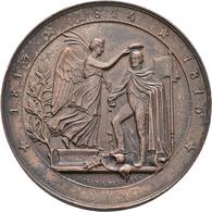 Medaillen Deutschland: Konvolut Von 100 Medaillen In Silber Und Bronze; Der überwiegende Teil Haben - Germany