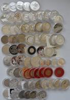 Medaillen - ECU: Lot Diverser ECU Münzen, über 70 Stück, Von Portugal Bis Schweden Oder Finnland All - Altri