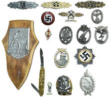 Orden & Ehrenzeichen: Drittes Reich: Sammlung 17 Auszeichnungen Als Sammleranfertigungen / KEINE ORI - Coins