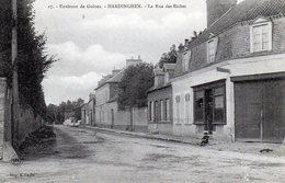 Hardinghen -  Environs De Guines - La Rue Des Riches - France