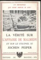 Ardennes 1944 Malmedy Massacre De Baugnez. Jochen Peiper - 1939-45