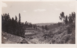 CPA Ethiopie - Carte-Photo - Addis-Abeba: Ravin De La Cubana - 1925 - Ethiopia
