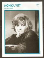 PORTRAIT DE STAR 1960 ITALIE ITALIA ITALY - ACTRICE MONICA VITTI L'AVVENTURA - ACTRESS CINEMA - Photographs