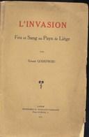 Liège Invasion De 1914 1e Guerre - 1914-18
