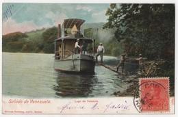 VENEZUELA CARACAS Saludo Lago De Valencia - Venezuela