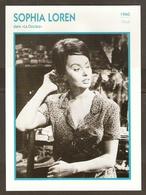 PORTRAIT DE STAR 1960 ITALIE ITALIA ITALY - ACTRICE SOPHIA LOREN LA CIOCIARA - ACTRESS CINEMA - Fotos