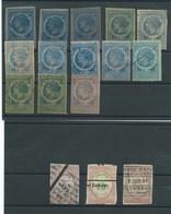 FRANCE - PETITE COLLECTION DE FISCAUX. ( +80 Timbres) - Revenue Stamps
