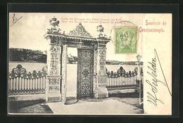 AK Constantinople, Porte Du Kiosque Des Eaux Douces En Asie - Turkey