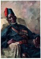 CPM - GHANA - African Veteran - Illustration Hélène URSZENYI BREZNAY - Ghana - Gold Coast