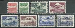 Tchécoslovaquie Poste Aérienne YT N°10/17 Neuf/charnière * - Airmail