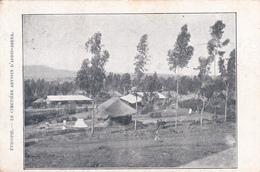 CPA Ethiopie - Le Cimetière Abyssin D'Addis-Abeba  - 1925 - Ethiopia