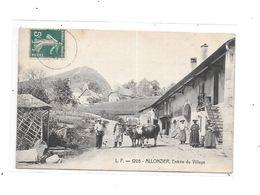74 - ALLONZIER : Entrée Du Village, - Autres Communes