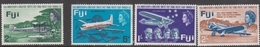 Fiji SG 367-370 1968 40th Anniversary Of Kingsford Smith's Pacific Flight, Mint Never Hinged - Fiji (...-1970)