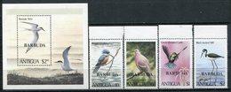 1980- BARBUDA-BIRDS= 5 VAL. - M.N.H.-LUXE !! - Antigua And Barbuda (1981-...)