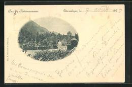 CPA Gerardmer, Lac De Retournemer - Gerardmer