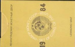 USSR Unione Sovietica Russia Official Set 1984 Leningrad Mint Zecca - Russia