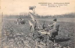 60-LIANCOURT- ETABLISSEMENT BAJAC, LABOURAGE MecaNIQUE AU TRACTEUR-TREUIL ( PROFONDEUR 35 % ) - Liancourt