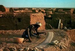 CPM - TEGGUIDAM-TESSOUM - Préparation Des Pains De Sel - Niger