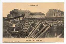 - CPA LUNÉVILLE (54) - La Guerre De 1914 - Pont De Ménil - Edition Paul Ritter N° 20 - - Luneville