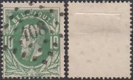 """Belgique - COB 30 Oblitération LP """"408"""" Ypres (DD) DC3249 - 1869-1883 Léopold II"""