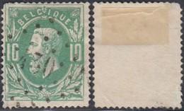 "Belgique - COB 30 Oblitération LP ""430"" Olsen Coin Rond (DD) DC3260 - 1869-1883 Leopold II"