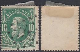 """Belgique - COB 30 Oblitération LP """"431"""" Meerhout (DD) DC3261 - 1869-1883 Leopold II"""