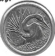 *singapore 5 Cents 1984 Km 2    Bu - Singapur