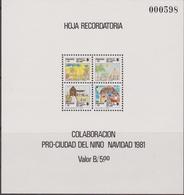 Panama 1981 - Christmas Navidad Natale Sheet MNH - Panama