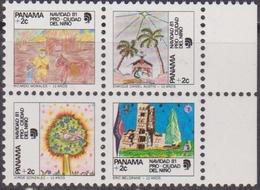 Panama 1981 - Christmas Navidad Natale Set MNH - Panama