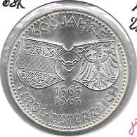 *austria 50 Shilling 1963  Km 2894 Unc - Autriche