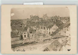 53051256 - Diksmuide Zerstörte Häuser 1915 WK I - Diksmuide