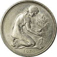 Monnaie, République Fédérale Allemande, 50 Pfennig, 1979, Stuttgart, TTB - [ 7] 1949-… : RFA - Rép. Féd. D'Allemagne